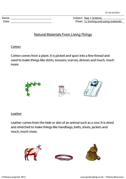 Natural materials from living things 2