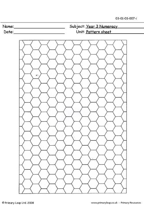 Pattern sheet 1