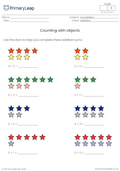 Counting with objects