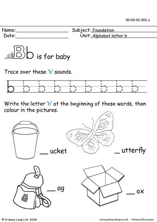 The letter Bb