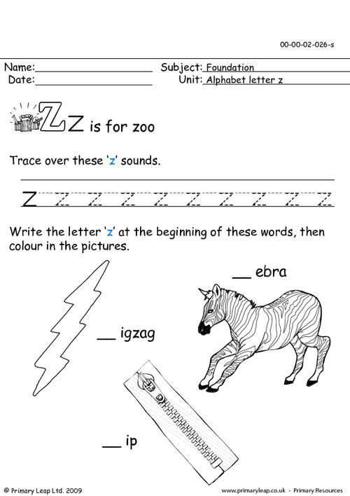 The letter Zz