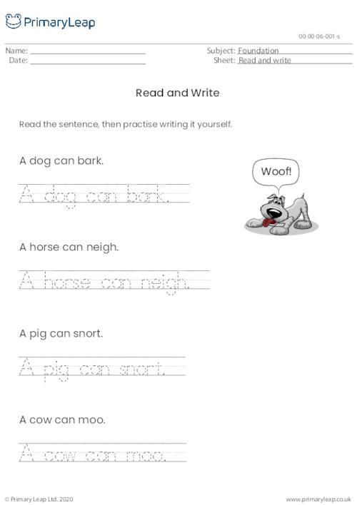 Read & Write 1