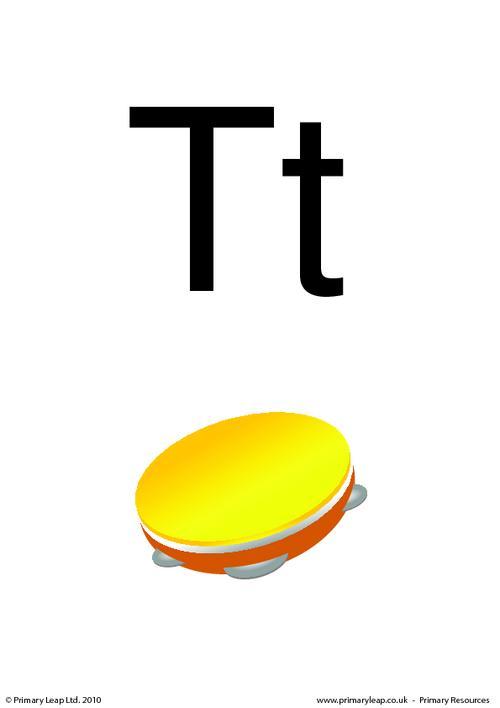 Letter Tt