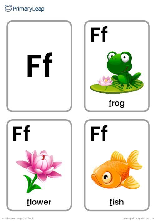 F sound flashcards