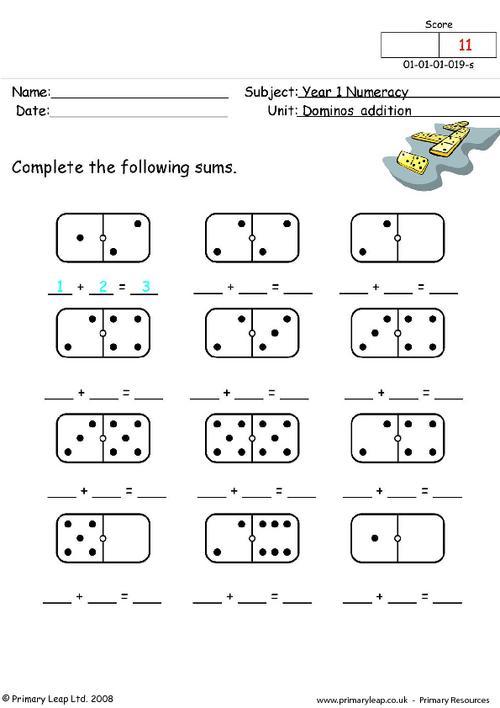 Dominos addition