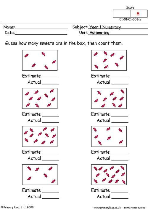 Estimating 1