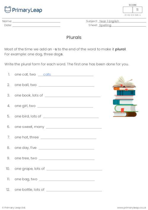 Plurals 2