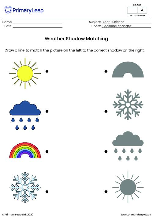 Weather Shadow Matching