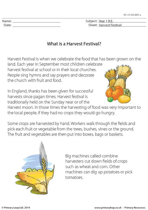 What Is A Harvest Festival?
