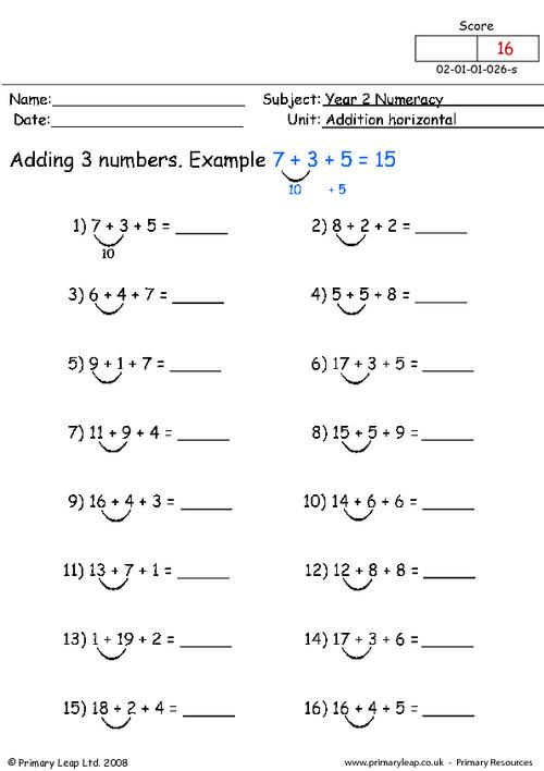 Addition horizontal (2)