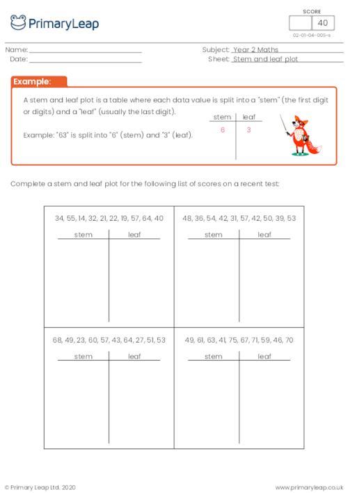 Stem and Leap Plot Diagram (2)