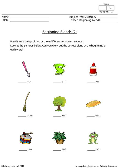 Beginning blends (2)