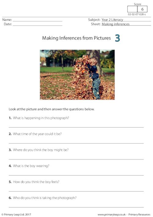 Making Inferences from Pictures 3