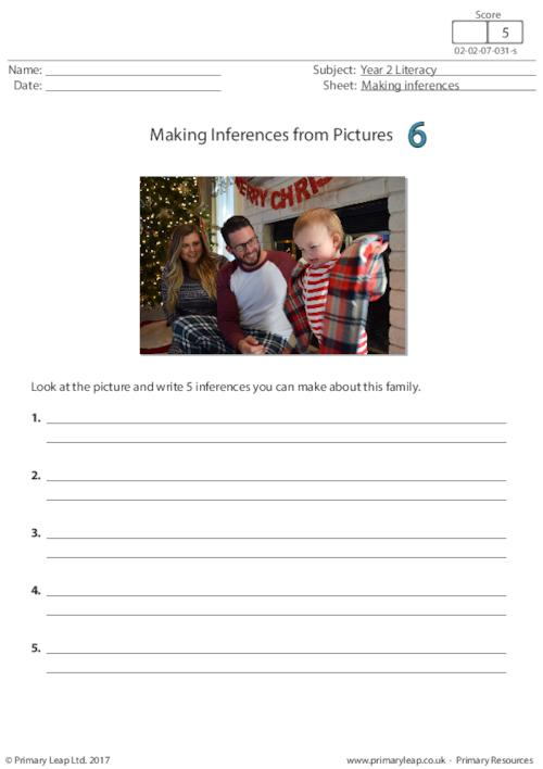 Making Inferences from Pictures 6