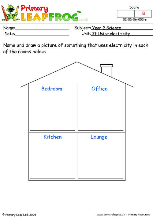 Using electricity for different things