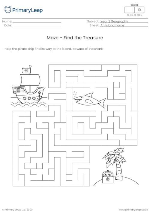 Maze - Find the Treasure