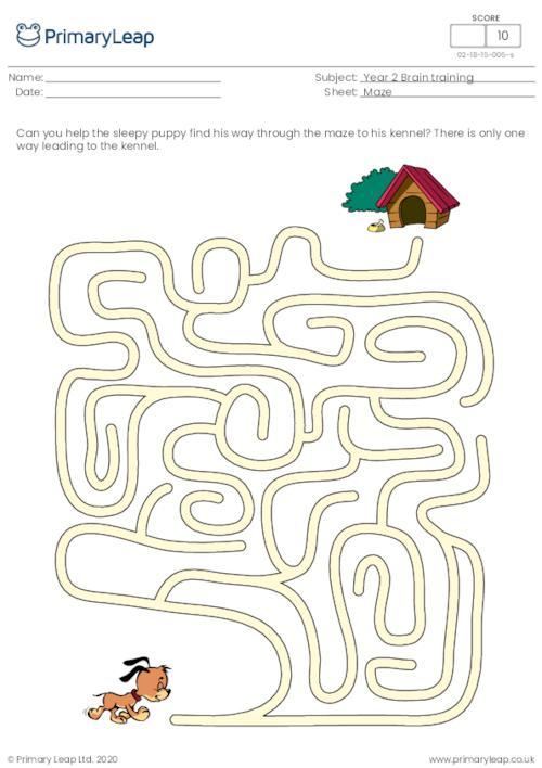 Maze - Find the kennel