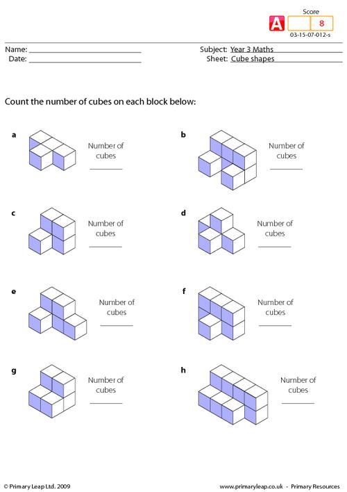 Cube shapes (advanced)
