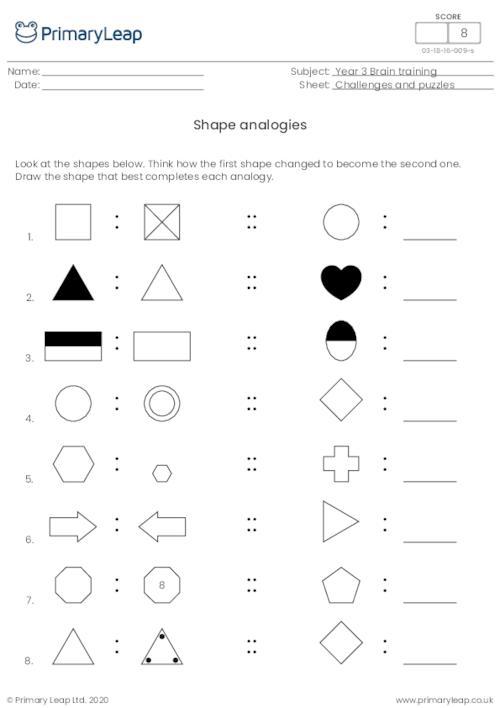 Shape analogies