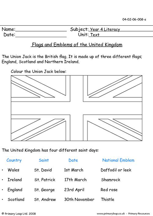 Flags and emblems of the United Kingdom