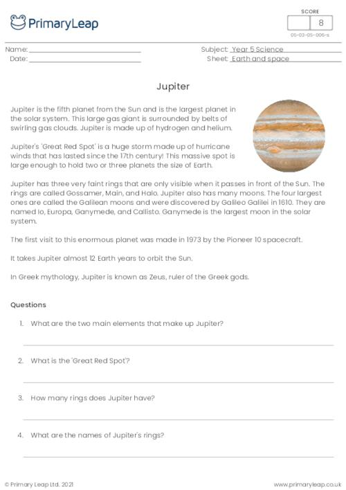 The planets - Jupiter