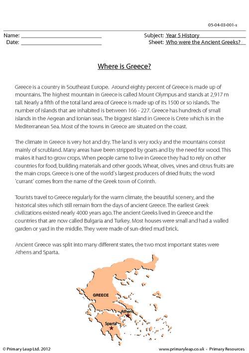 Where Is Greece?