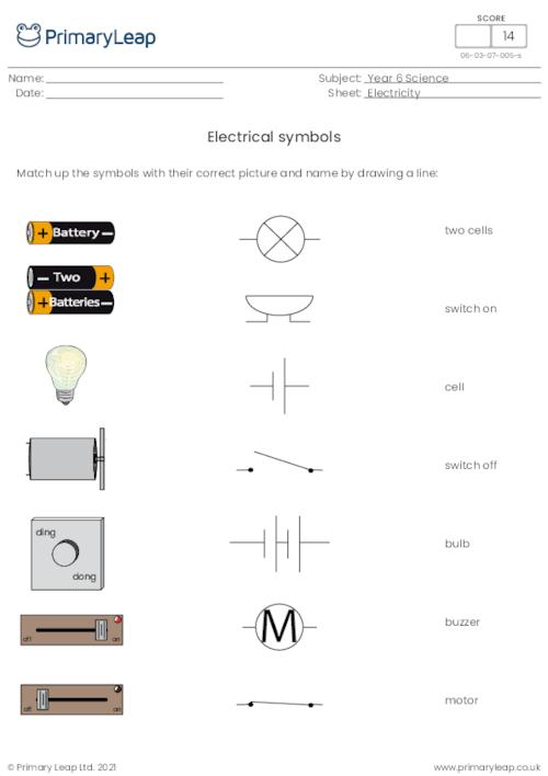 Electrical symbols 1