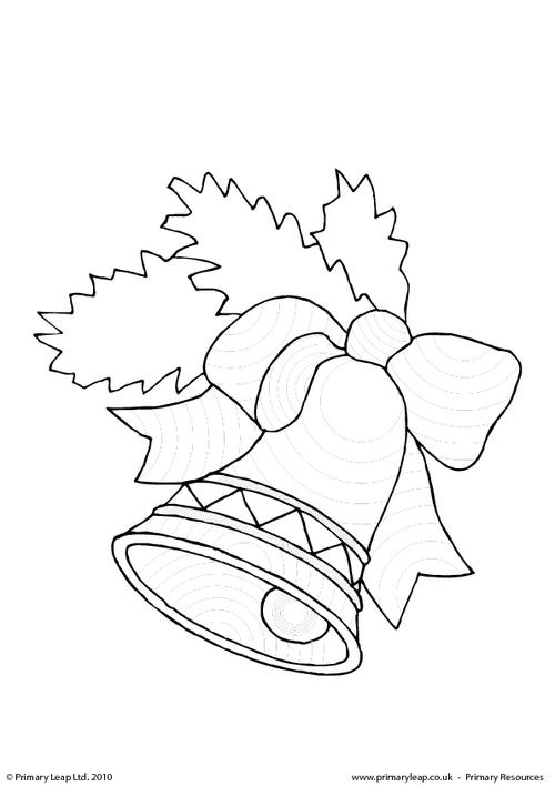 Colouring picture - Bell