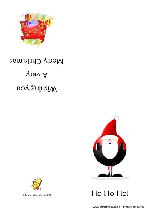 Christmas card - Ho ho ho!