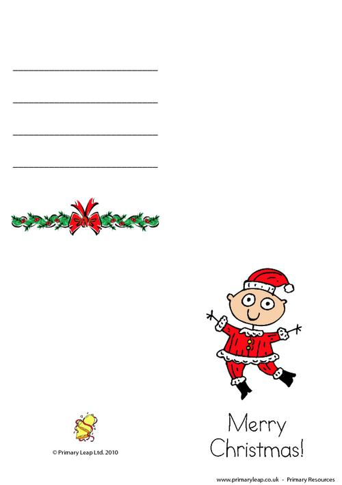 Christmas card -  Angel dancing