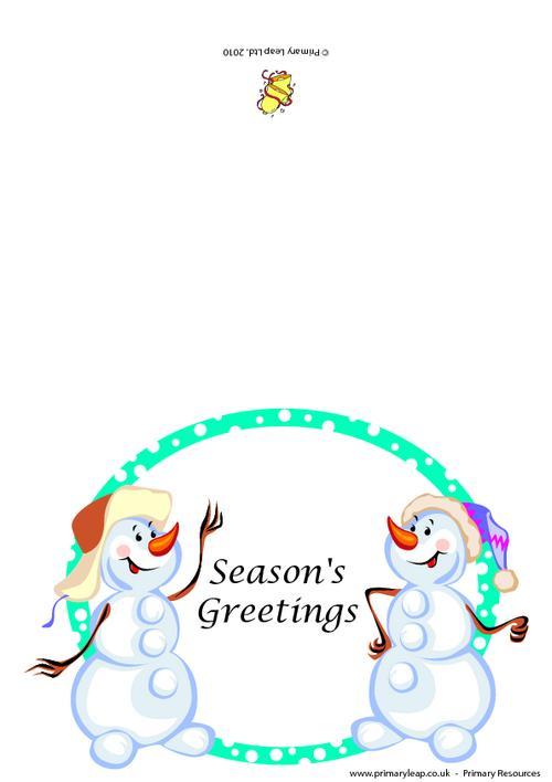 Christmas card -  Season's greetings