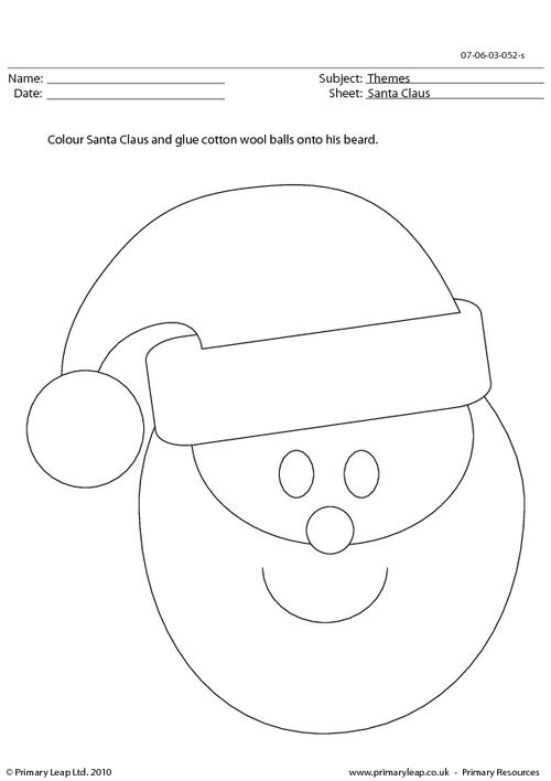 Craft - Santa Claus