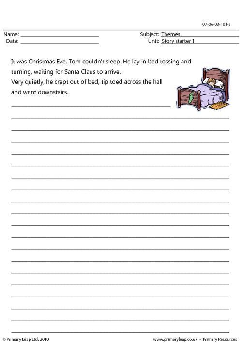 Christmas - story starter 1