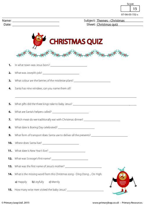 Christmas Fun Quiz