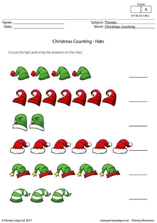 Christmas Counting - Hats