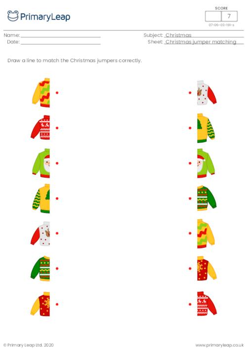 Christmas jumper matching