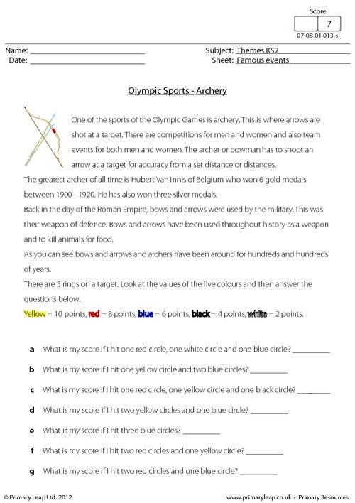 Olympic Sports - Archery