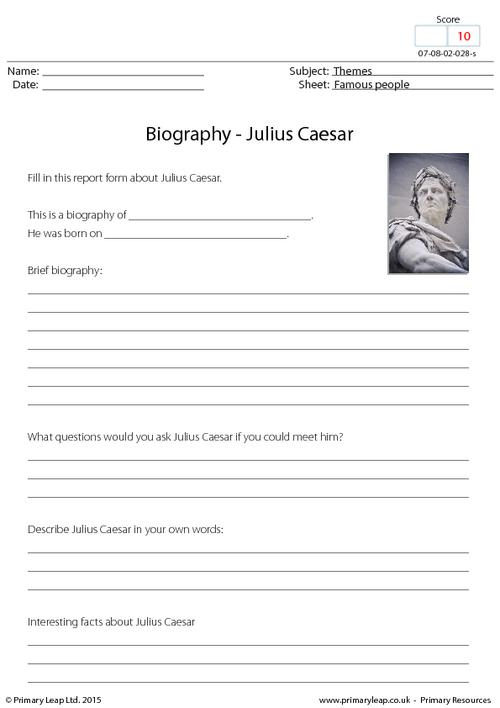 Biography - Julius Caesar