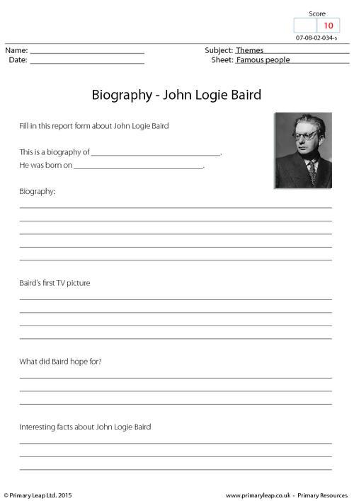 Biography - John Logie Baird