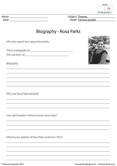 Biography - Rosa Parks