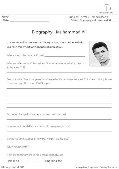 Biography - Muhammad Ali