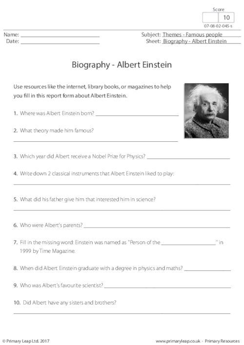Biography - Albert Einstein