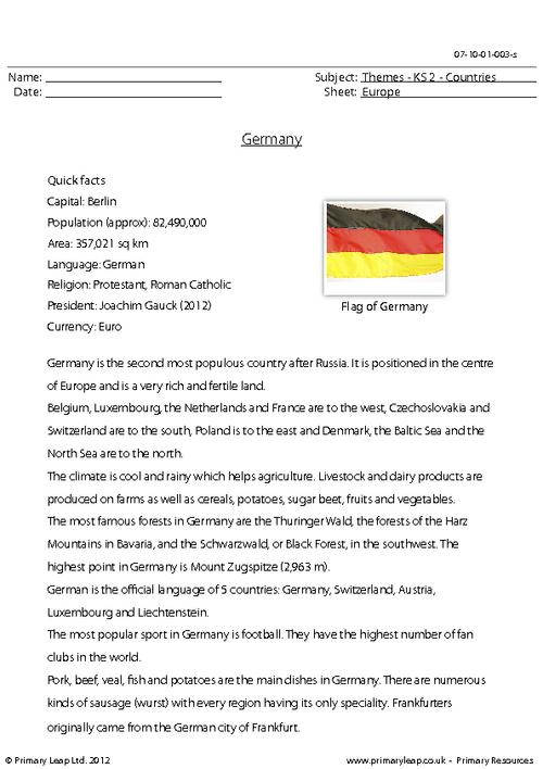 Countries - Germany