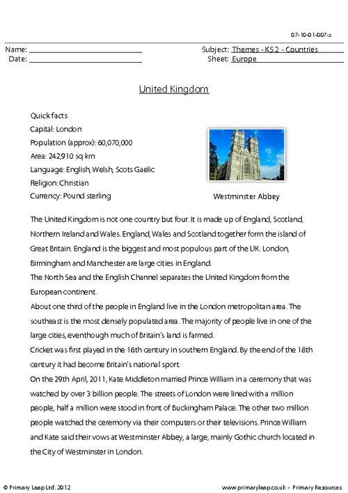 Countries - United Kingdom