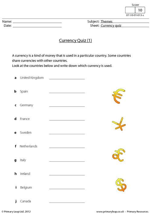 Currency quiz (1)