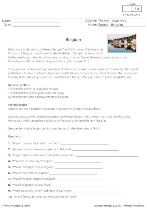 Countries - Belgium