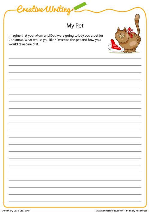Creative writing - My Pet