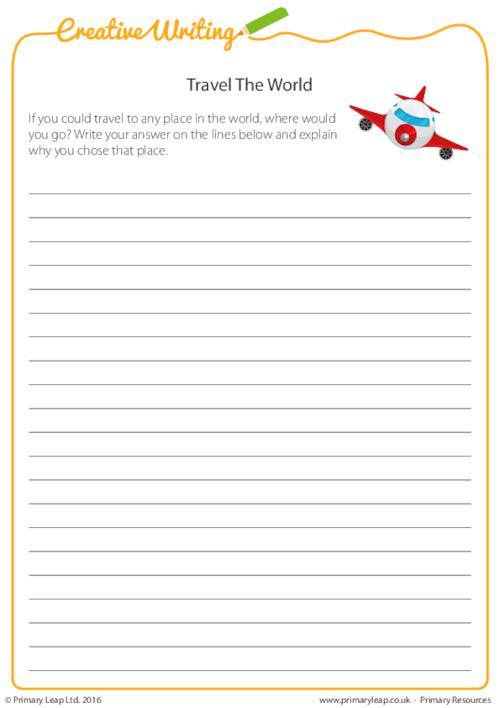 Creative Writing - Travel the World