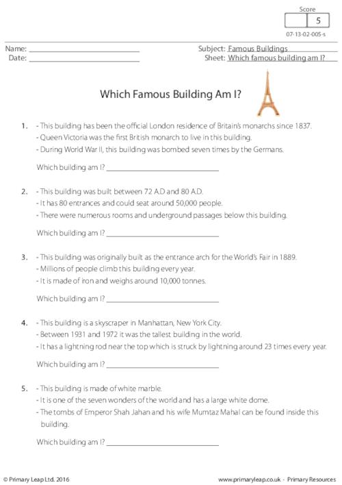 Which Famous Building Am I?