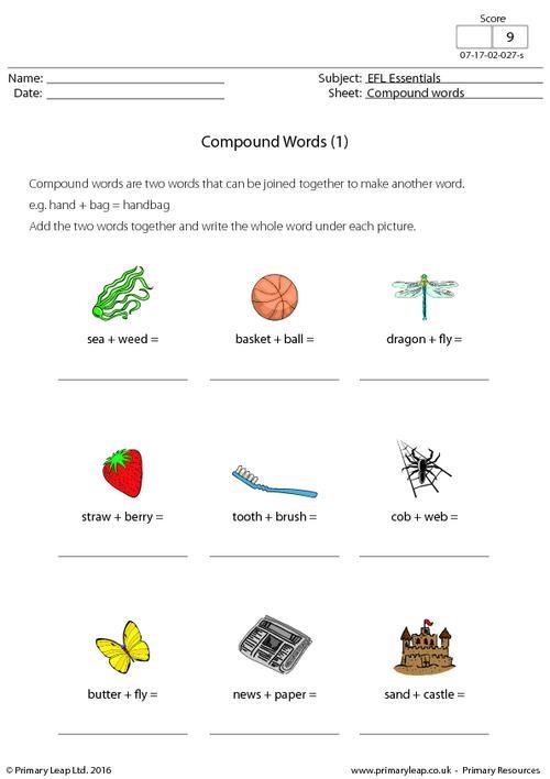 EFL - Compound Words (1)